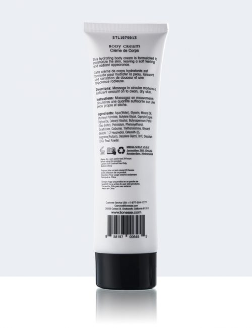 Body Cream back
