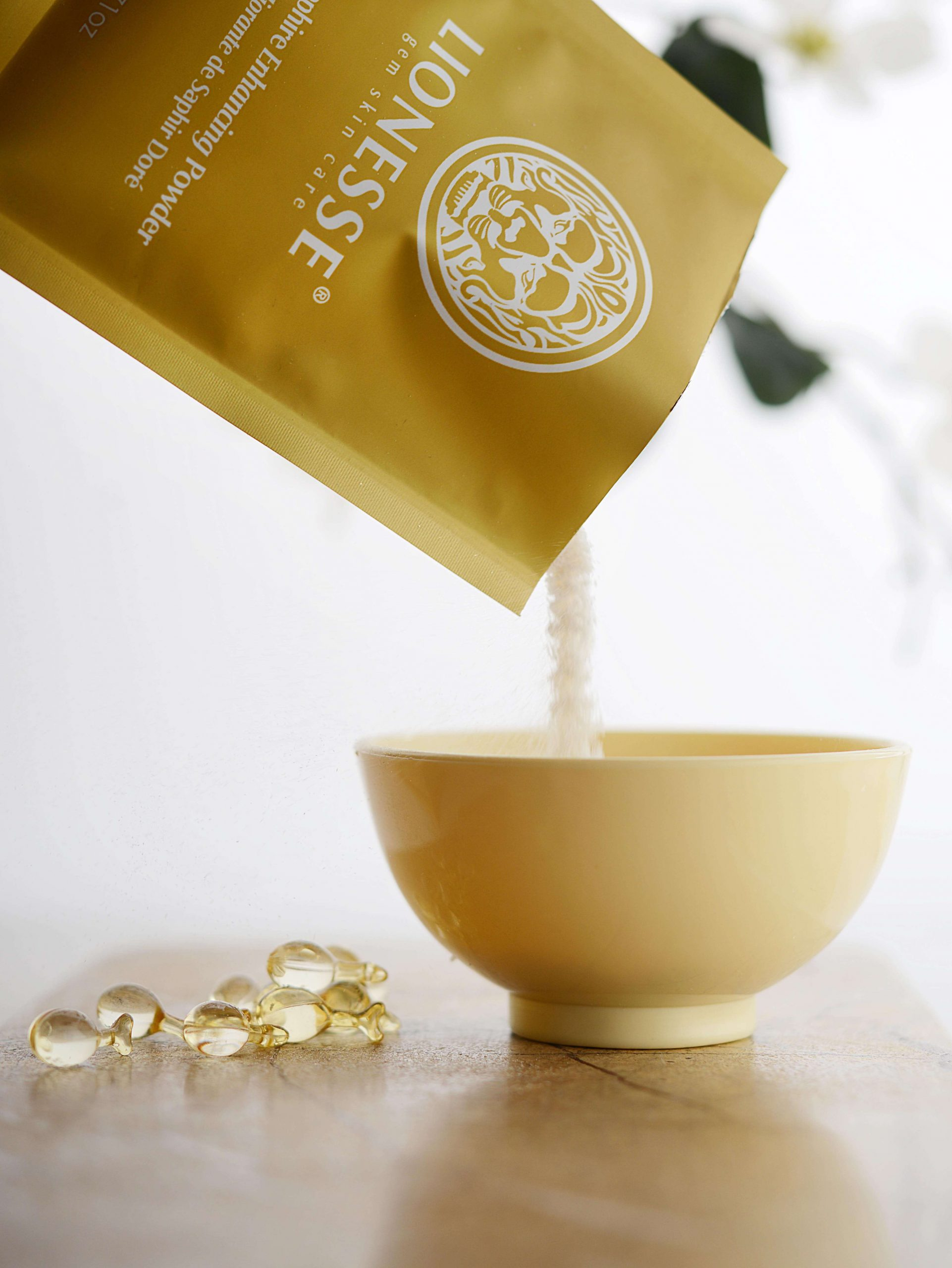 Golden Sapphire Collection mask