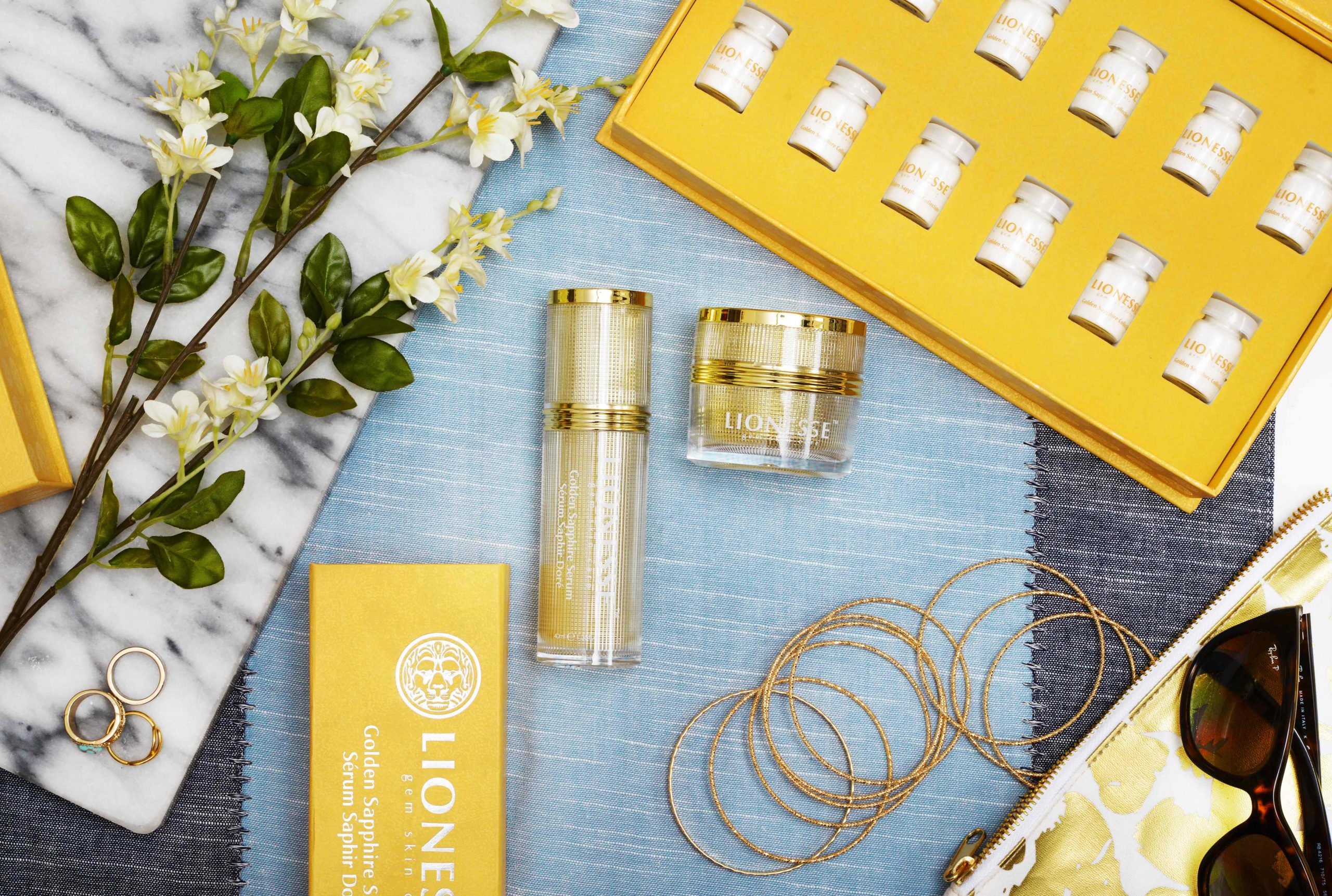4 Ways Your Skin Would Benefit from the Golden Sapphire Collection