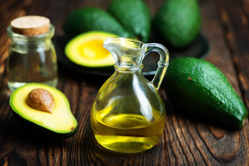 Avocado oil in a small jug