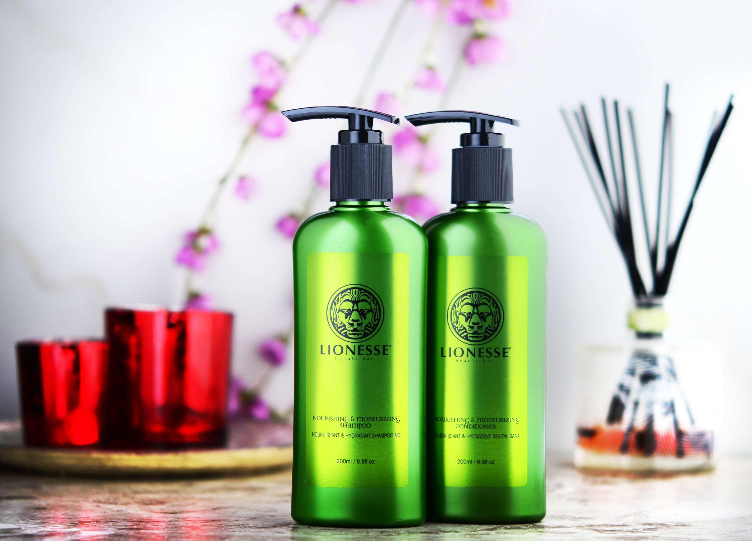 Lionesse shampoo and conditioner