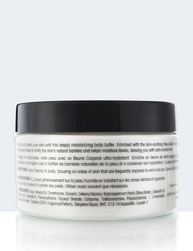 Body Butter back