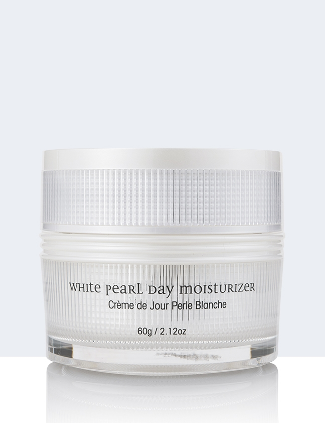 White Pearl Day Moisturizer back