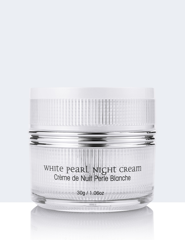 White Pearl Night Cream back