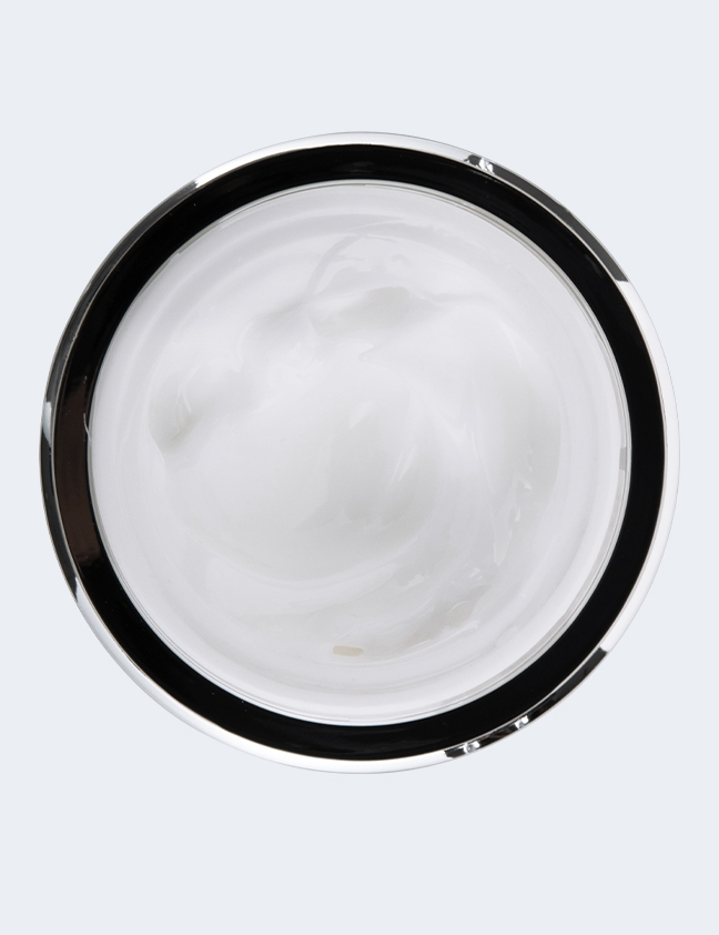 White Pearl Night Cream top view